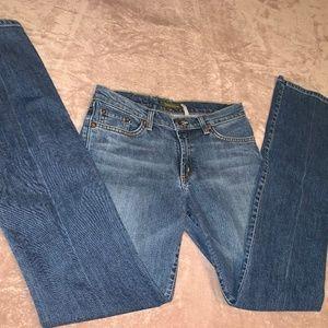 Size 4 David Kahn Boot Cut Jeans